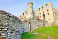 Old Ruins Ogrodzieniec Castle Poland Royalty Free Stock Images - 40668639