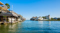 Waterfront Homes Royalty Free Stock Photography - 40672717