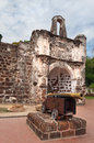 The Ruined Gates Of  Portuguese Fort A Famosa, Porta De Santiago Royalty Free Stock Image - 40675676