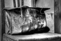 Old Leather Bag Royalty Free Stock Photo - 40675935