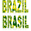 Brazil Balls Royalty Free Stock Photos - 40677868