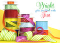 Bright Multi Color Gift Wrapping Stock Photo - 40688800