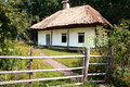 Old Ukrainian House, Pirogovo; Kiev, Ukraine Royalty Free Stock Photo - 40692865