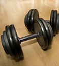 Couple Of  Weights Stock Photos - 4078253