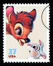 Bambi Postage Stamp Royalty Free Stock Photography - 40703597