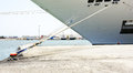 Detail Of Mooring A Vessel In The Port Of La Goulette Stock Photography - 40709432