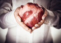 Heart In Hands Royalty Free Stock Photography - 40709937