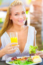 Having Lunch Outdoors Stock Photography - 40712302