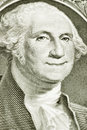 One Dollar Bill With Smiling George Washington Royalty Free Stock Photography - 40714337