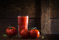 A Glass Of Tomato Juice Royalty Free Stock Photography - 40721687