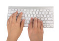 Business Woman Hand Typing On Laptop Keyboard (with C Royalty Free Stock Photo - 40734805