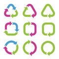 Colorful Cycle Arrows. Royalty Free Stock Images - 40735669