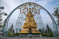 Meisha OCT East Shenzhen Huaxing Temple Surrounded By Golden Buddha Buddha Sitting On Lotus Royalty Free Stock Photos - 40745308
