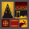 Asian Art Background. Royalty Free Stock Photos - 40753818