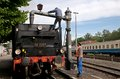 Fulfilling The Steam Locomotive Water Stock Photography - 40756172