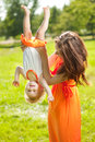 Beauty Mom And Baby Outdoors. Happy Family Playing In Nature. Mo Stock Photos - 40759083