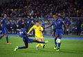 FIFA World Cup 2014 Qualifier Game Ukraine Vs France Royalty Free Stock Photography - 40760187