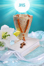 The First Holy Communion Still Life Stock Image - 40769771