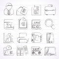 Business And Office Icons Stock Photo - 40783730