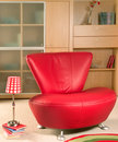 Red Armchair Royalty Free Stock Image - 4083616