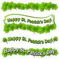 Happy St. Patrick S Day Banners Logos Stock Images - 4086684