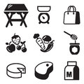 Market Place Icons Stock Photography - 40806772