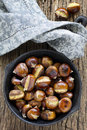 Roasted Chestnuts Stock Images - 40809184