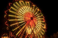 Carnival Ferris Wheel Lit Up At Night Royalty Free Stock Image - 40818566