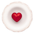 Empty Dinner Plate Stock Photography - 40819962