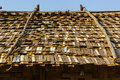 Bamboo Roof Royalty Free Stock Photography - 40824447