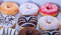 Donuts In A Box. Stock Photos - 40825013