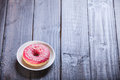 Donut On A Table. Stock Photography - 40825052