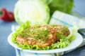 Cabbage Burgers Royalty Free Stock Image - 40827466