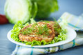 Cabbage Burgers Stock Image - 40827471