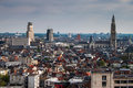 Aerial View Of Antwerp Royalty Free Stock Photography - 40838657