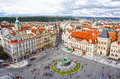 Jan Hus Monument In Old Town Square, Prague Stock Images - 40840724
