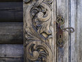 Old Wood Door Royalty Free Stock Images - 40844469