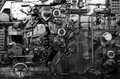 Detail Of A Rusted Machine Royalty Free Stock Images - 40848189