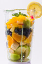 Mixed Exotic Fruits In Blender Stock Photography - 40858812