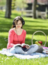 Reading In Nature Is My Hobby Royalty Free Stock Photos - 40869348