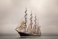 Old Ship Sailing In The Sea Stock Photos - 40881743