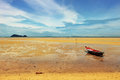 Beautiful Seashore During Low Tide Royalty Free Stock Photo - 40882755