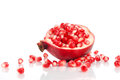 Pomegranate With Seeds Stock Images - 40885424