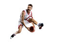 Basketball Player In Action Royalty Free Stock Image - 40887436
