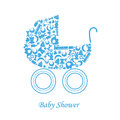 Baby Carriage Royalty Free Stock Photos - 40890758