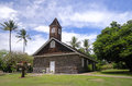 Small Lava Church Celebrates Easter, Makena, Maui, Hawaii Royalty Free Stock Image - 40895176
