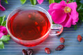 Tea With Rose Hips Royalty Free Stock Photos - 40895418
