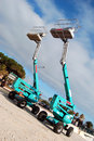 Aerial Lifts Stock Photography - 4096382