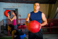 Athletic Guy Doing Crossfit Stock Images - 40901974