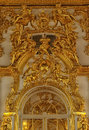 Gold Stucco On The Walls Stock Image - 40909531